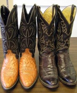 Men's Cowboy Boots for sale at St. Vincent de Paul's Fond du Lac.