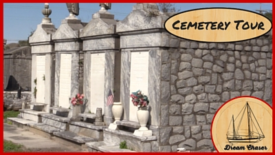 Featured Image - Crew Visits a cemetery