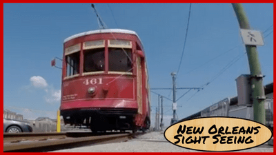 New Orleans StreetCar - Title Image