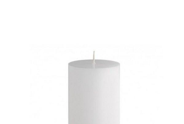 свеча с плоским верхом