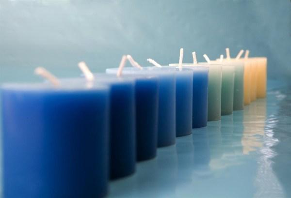 свеча столбик