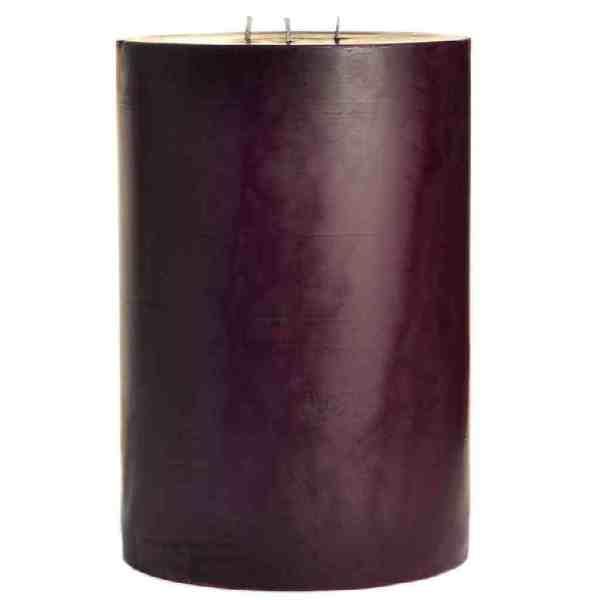 свеча фиолетовая диаметр 15 см высота 20 см