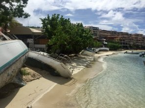 Destruction in Cruz Bay St. John