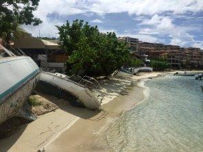 Destruction in Cruz Bay St. John