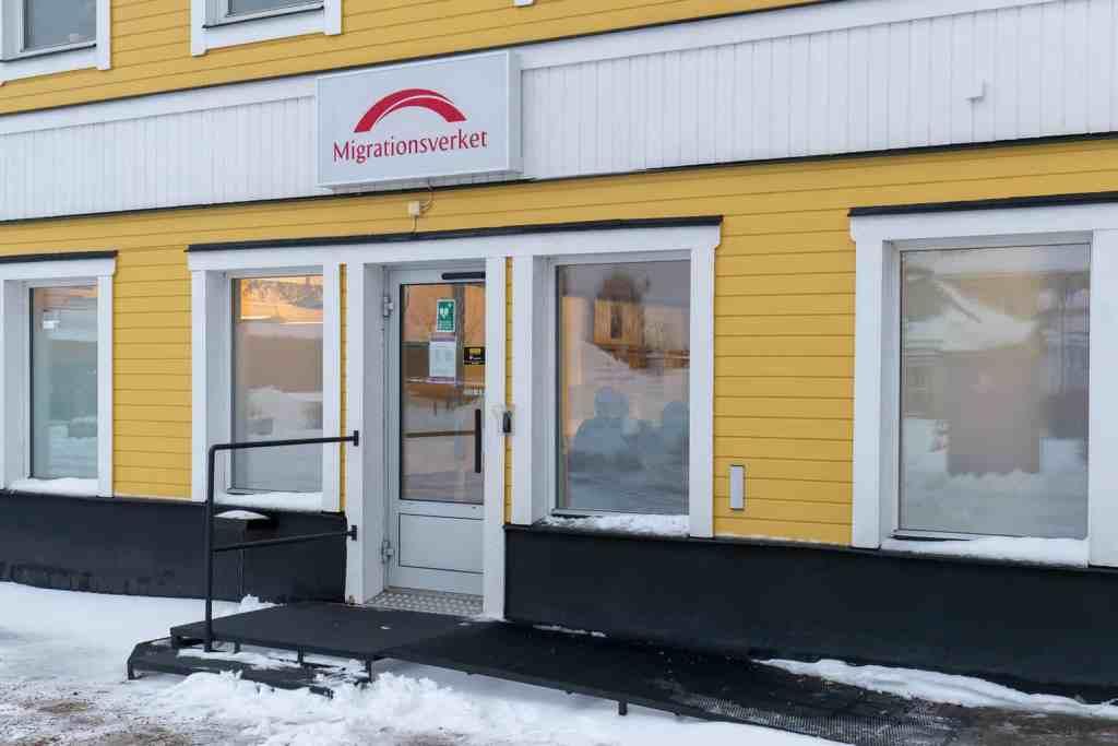 Migrationsverkets kontor i Sveg. Foto: Morgan Grip