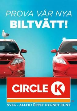 Circle K - Ny biltvätt