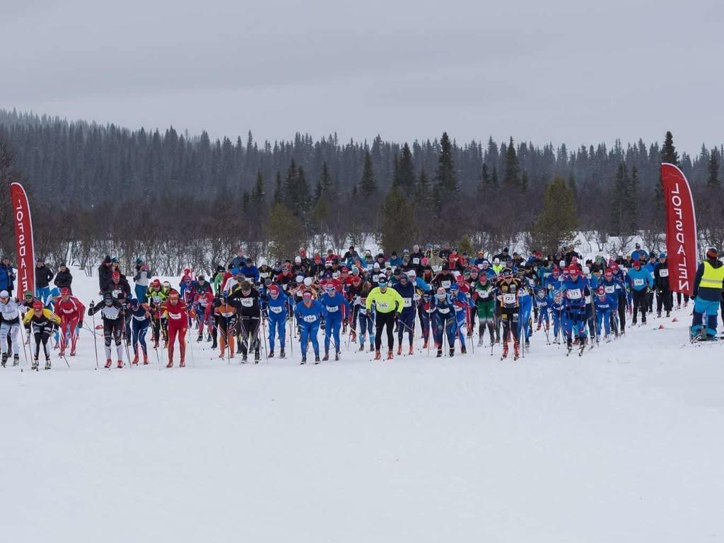 Pilgrimsloppet 2018 är igång. Foto: Pilgrimsloppet/Emma Rossander