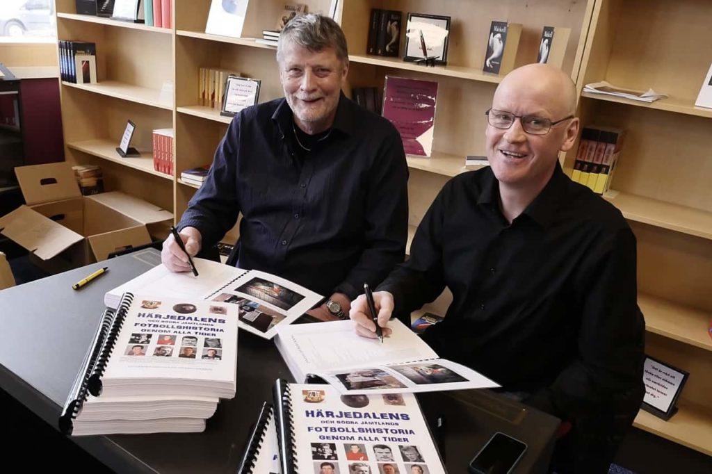 Haraldsson och Kristoffersson tillbaka med ny bok – Älvrosstafetten 1934-1964