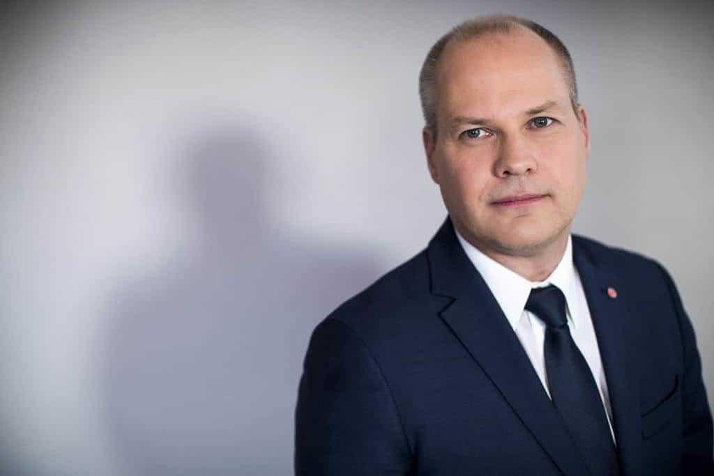 Justitie- och inrikesminister Morgan Johansson. Foto: Kristian Pohl/Regeringskansliet