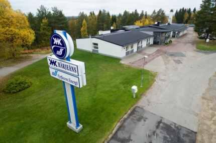 Härjeåns huvudkontor i Sveg. Foto: Morgan Grip