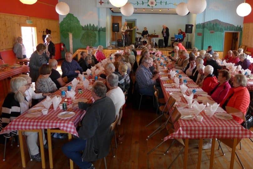 SPF surströmmingsfest. Foto: Arne Hård