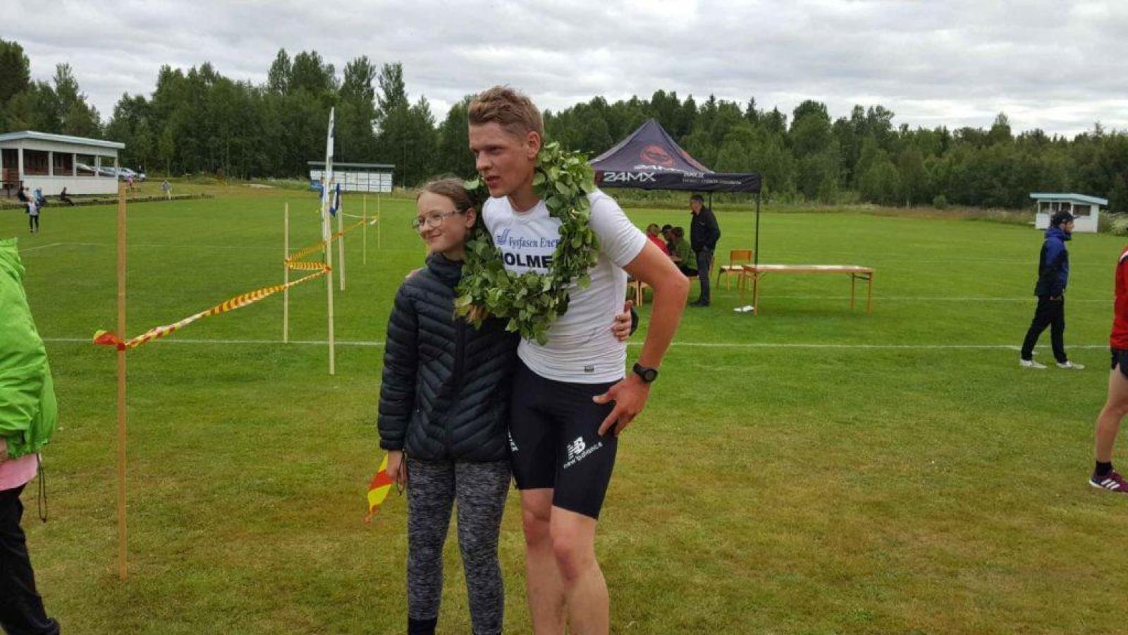 Årets segrare på den långa banan heter Magnus Lindberg och tävlar för Ockelbo SK. Foto: B-G Eliasson