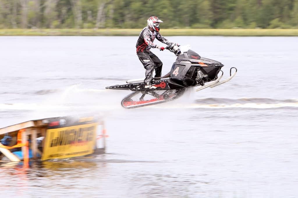 Joel Renberg,Team Merafritid, vann fredagens Watercrosstävlingar på Hån i Lillhärdal. Arkivbild. Foto: Morgan Grip