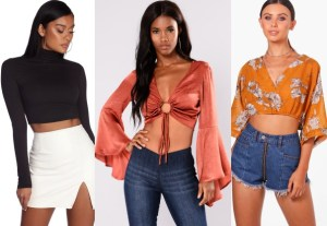 10 Crop Tops for Every Fashionista