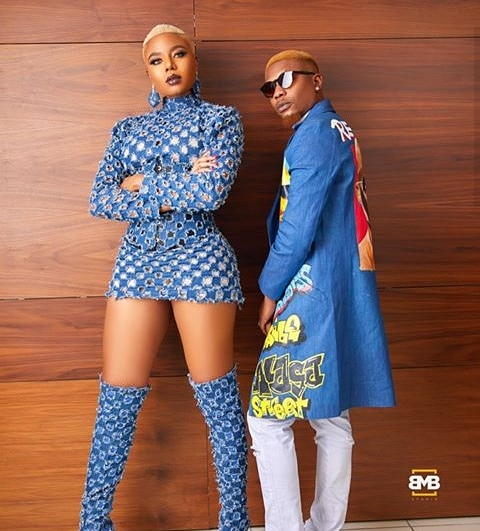 Nancy Isime and Reminisce, hosts of the 13th headies awards