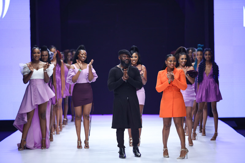 Darling Hair at Lagos Fashion Week Day 2