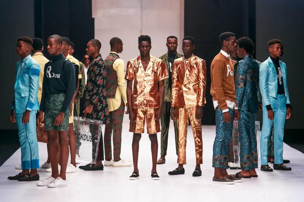 Rick Dusi at Heineken Lagos Fashion Week Day 1