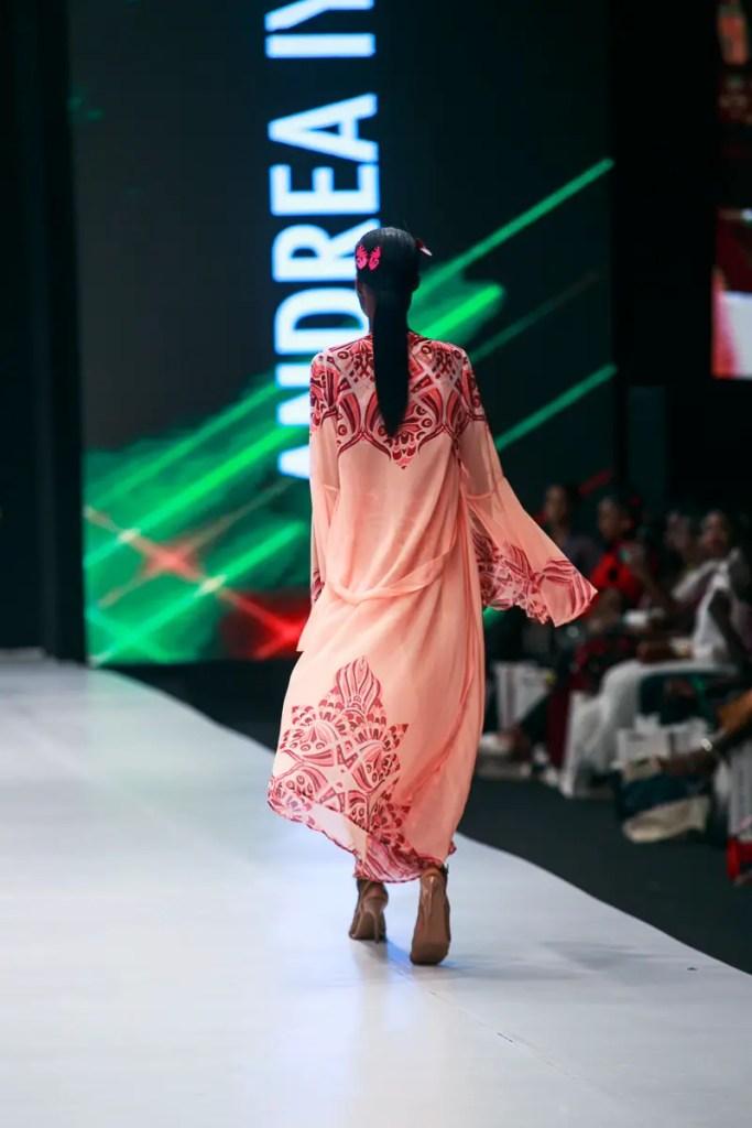Andre Iyamah at Lagos Fashion Week Day 2