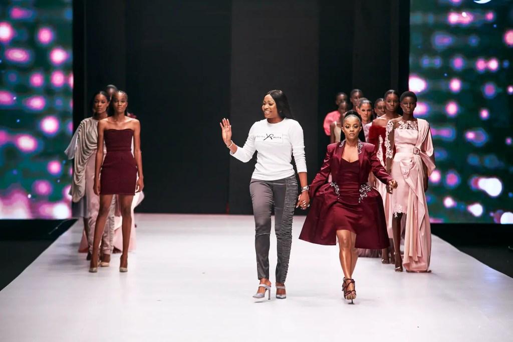 Yutee Rone at Heineken Lagos Fashion Week Day 1