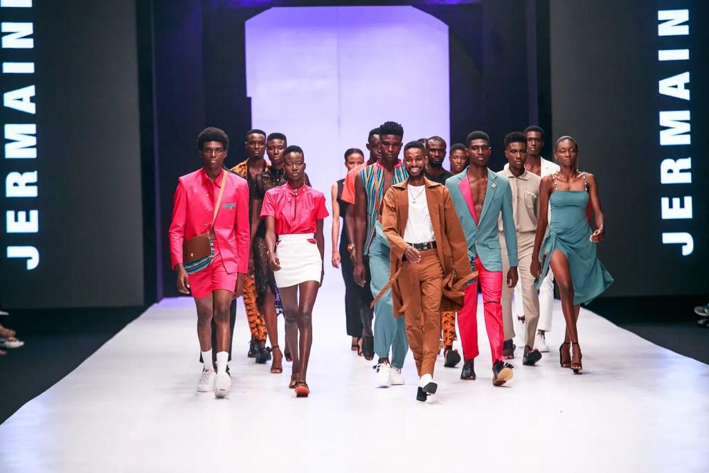 Jermaine Bleu at Heineken Lagos Fashion Week Day 1