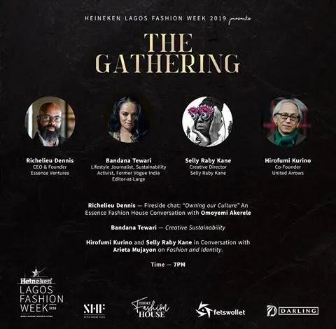 Heineken Lagos Fashion Week 2019 Kicks Off with Fashion Business Series Dinner, 'The Gathering'