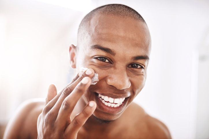 Exfoliate Your Face Twice A Week - Simple Skincare Routine for Men
