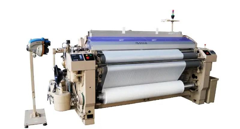 Industrial weaving machines