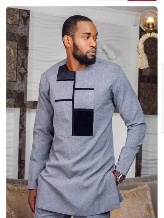 mix fabric senator wear style