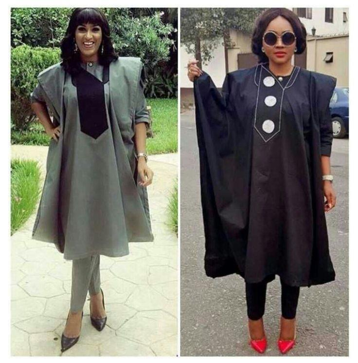 women rocking agbada - Native Wears For Nigerian Women