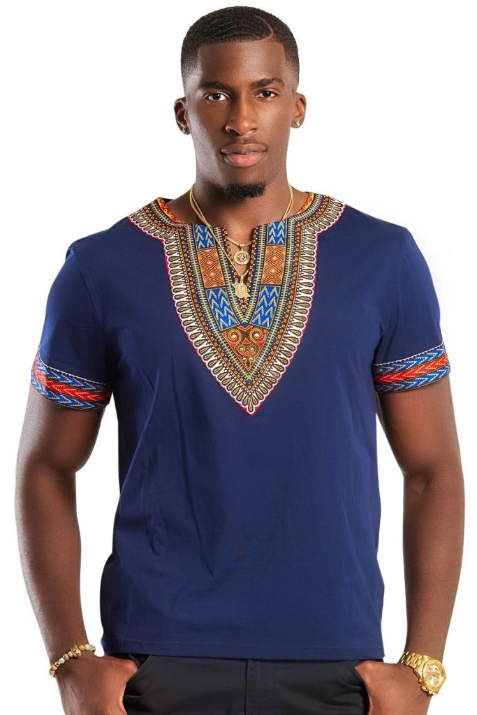 fine man wearing dashiki - Native Wears for Nigerian Men