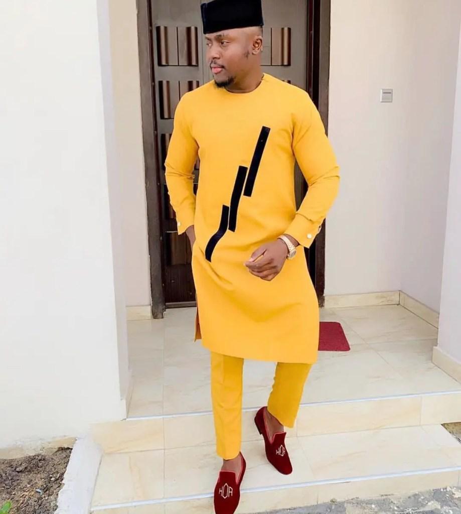 orange senator - Native Wears for Nigerian Men