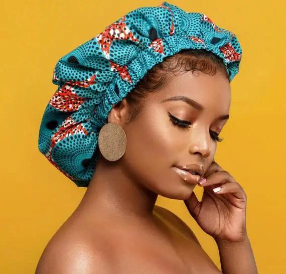 ankara bonnet - Types of Headwear for Women