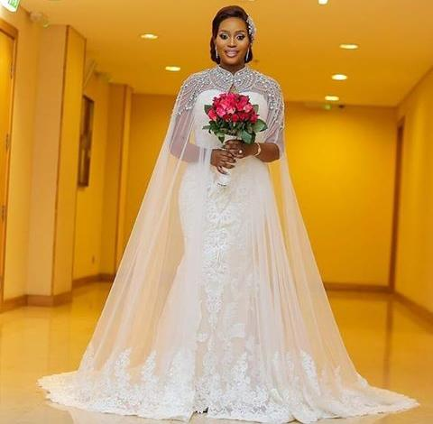 Wedding dress by Atafo - Top Fashion Brands in Nigeria