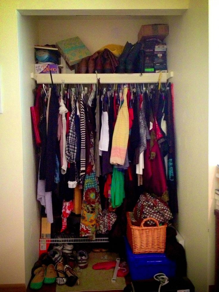 scattered wardrobe