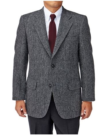 grey sack suit - Types of Suits for Men