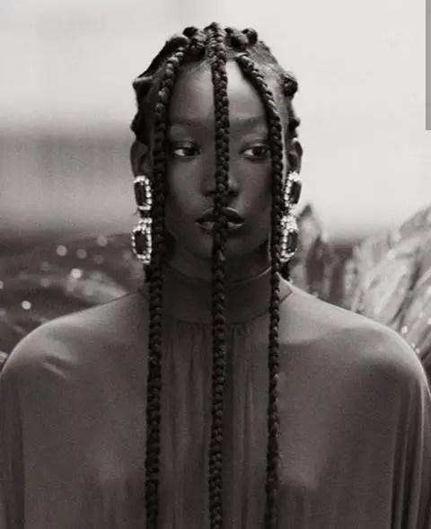 Model styled by Daniel Obasi