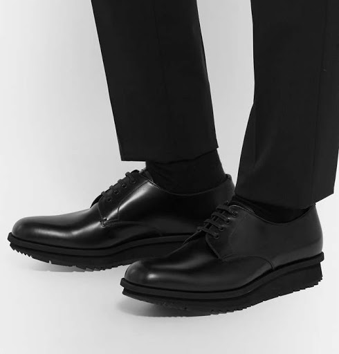 black derby shoes - Types of Shoes for Men