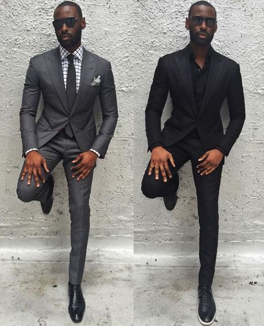 wearing black shoes - How to Combine Men's Shoes with Clothes