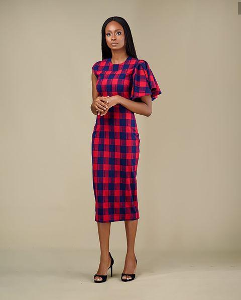 lady in a comfortable looking work wear gown