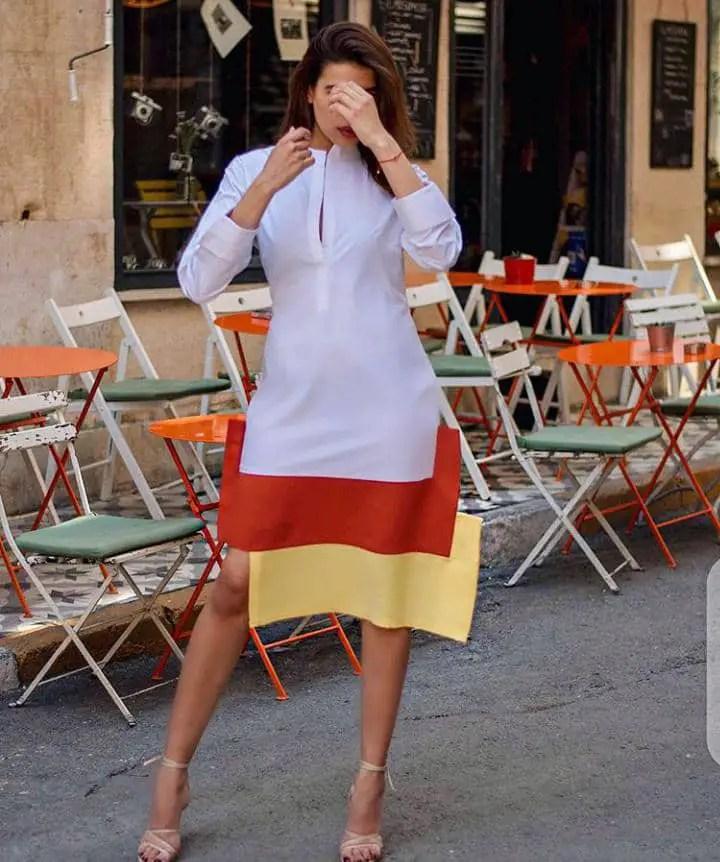 woman wearing a beautiful dress by Style Temple