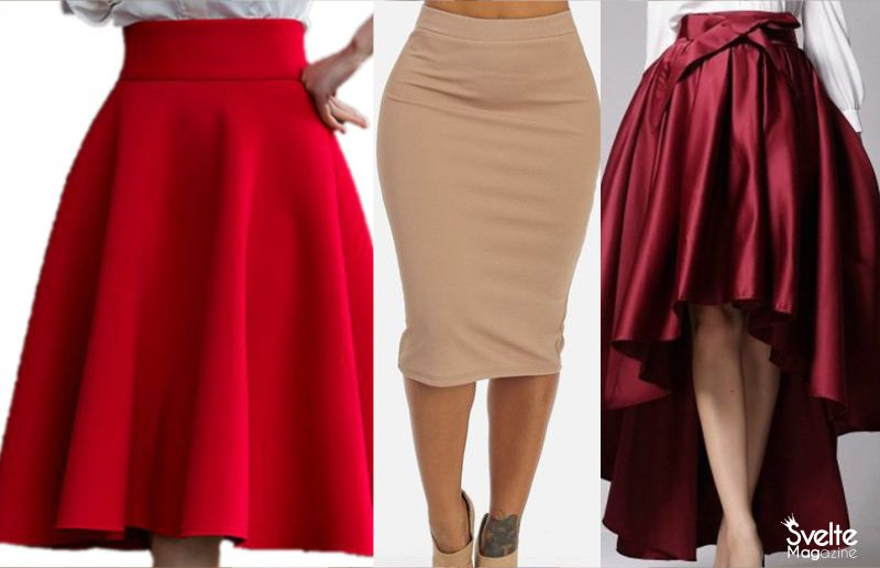 17 Types of Skirts that Suit Your Body Type