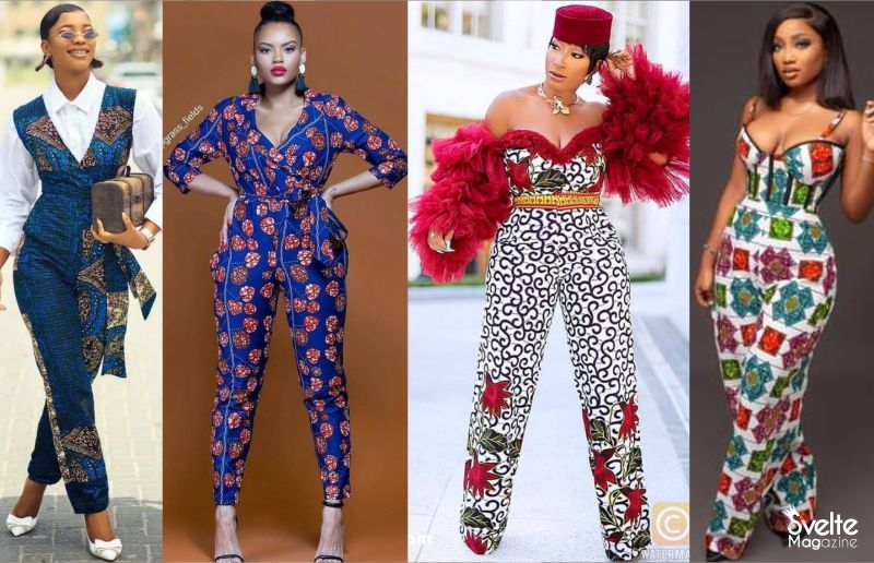 10 Latest Ankara Jumpsuits Styles to Flaunt Your Shape With