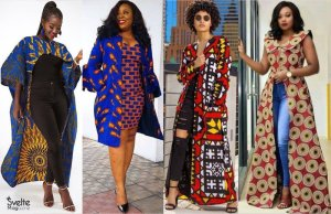 Latest Ankara Kimono Styles to Layer Your Dresses