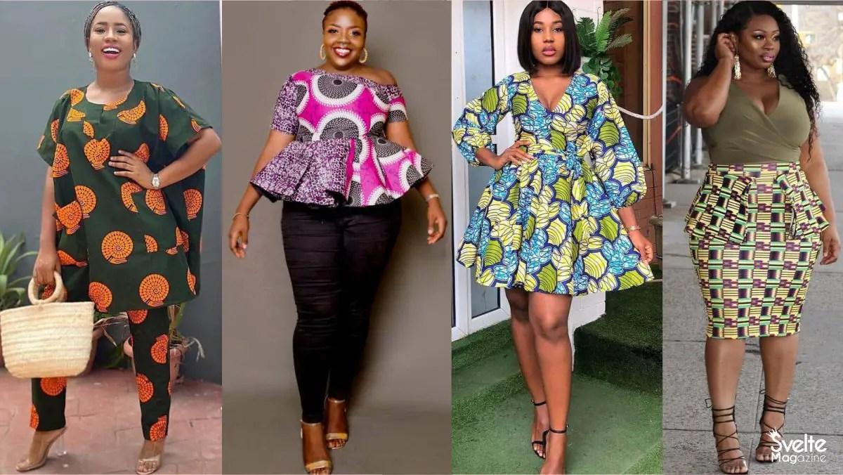 Latest Ankara Styles for Ladies With Big Tummy