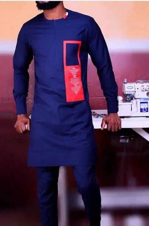 man in navy blue senator