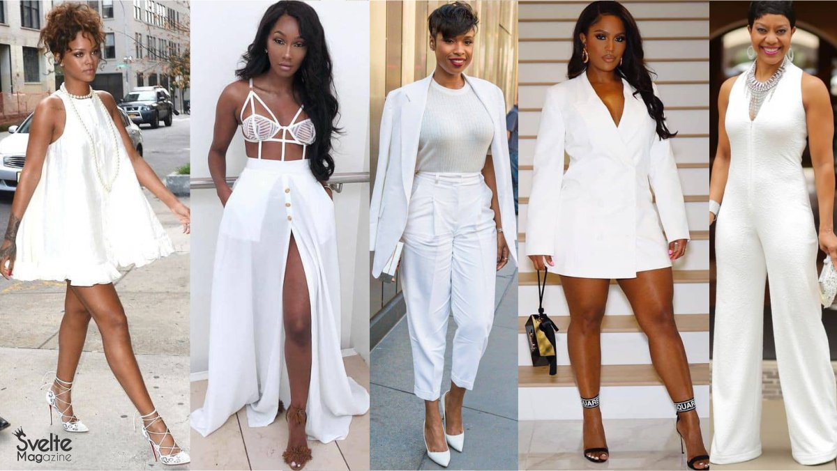 How to Style All-White Outfits