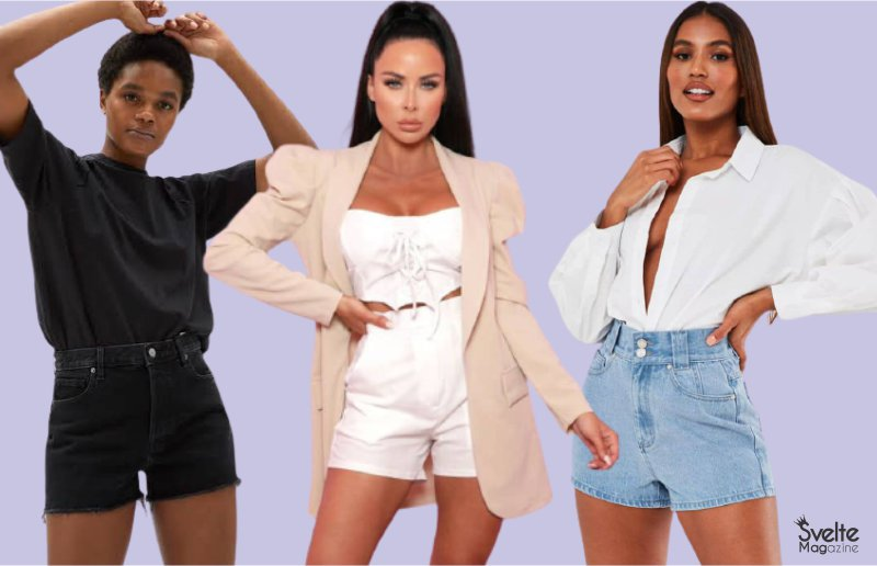 How to Wear High-Waisted Shorts and Look Sexy