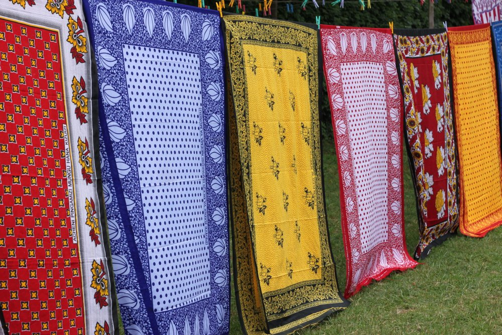 Kanga fabric