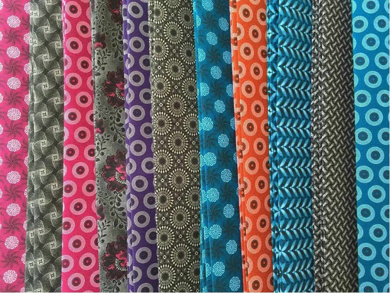 Shweshwe fabrics