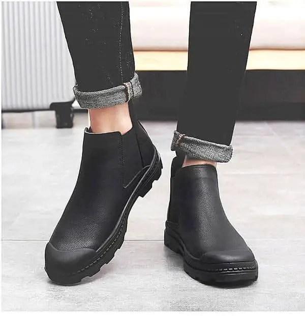 waterproof work shoe for men